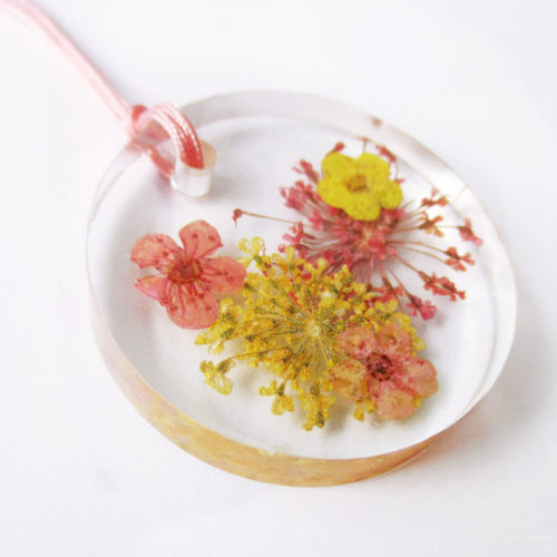 Pendentif Mona - Bijou fleur - Bijoux sur mesure - Lanaflore