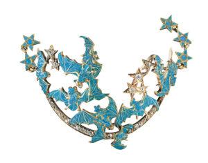 bijou nouveau art deco bracelet cheville lalique cadeau