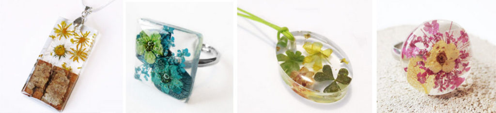 mode-tendance-fleurs-floral-bijoux-resine-bijou-vegetal-botanique