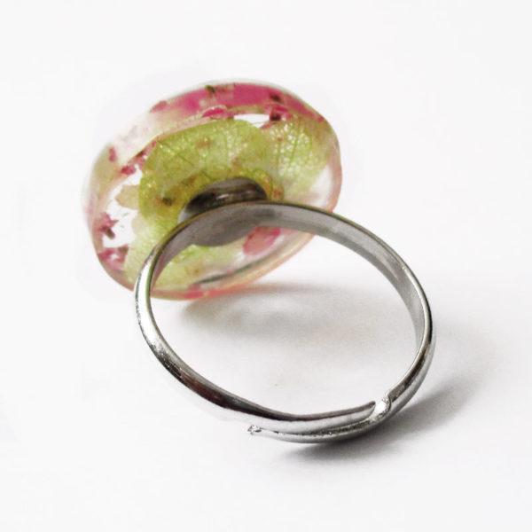bague bella-bijou-resine-fleur-personnalisable-bijou-floral-cadeau-nature-femme