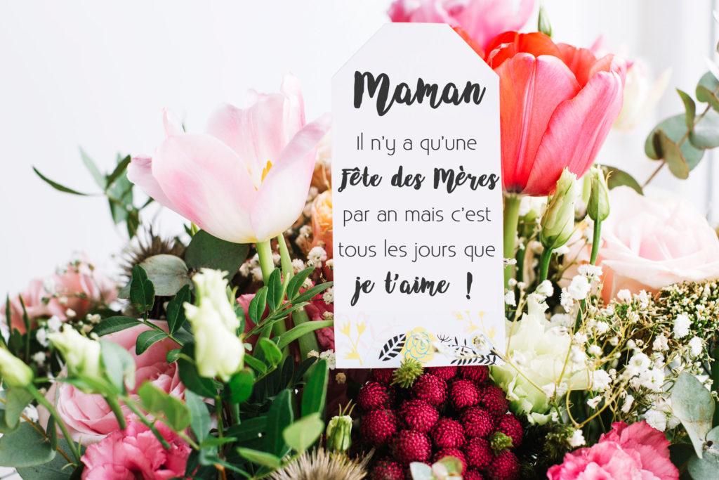 un bijou unique pour la fête des mères-bijou floral cadeau femme resine fleurs