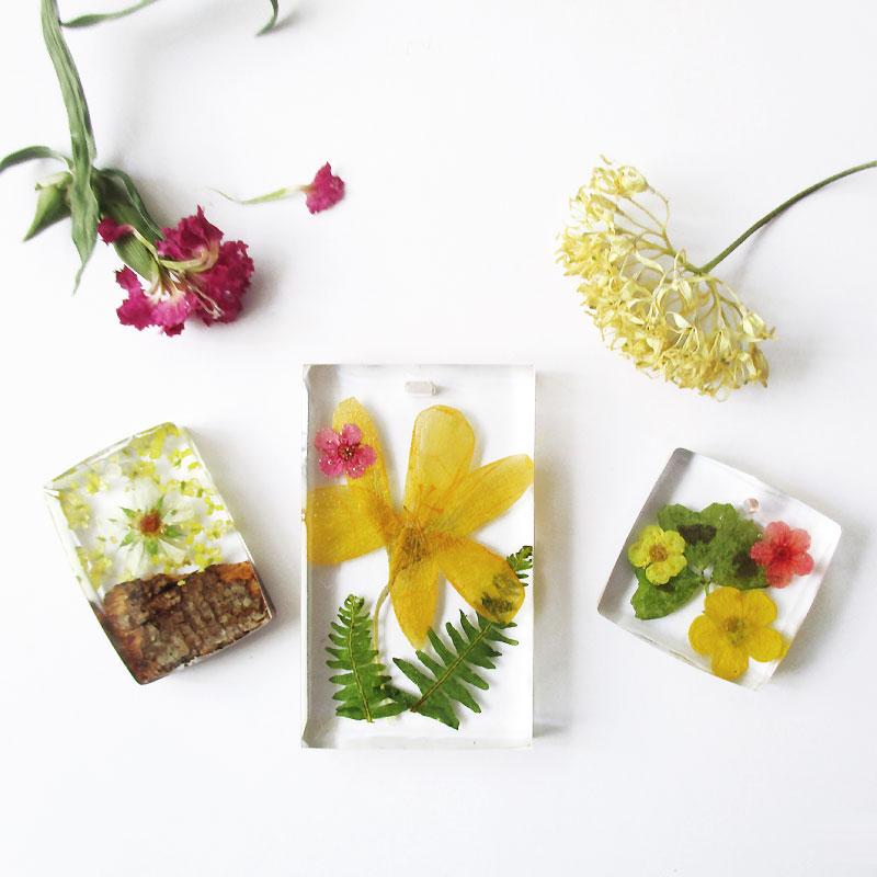 bijou de mariage nature fleurs résine cadeau femme fleur naturelle résine d'inclusion bijou végétal