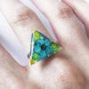 bague-timeti-bijou-bleu resine-fleur-personnalisable-bijou-floral-cadeau-nature-femme océan