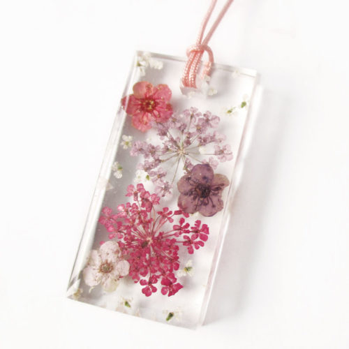 pendentif alice résine d'inclusion bijou nature fleurs naturelles cadeau floral collier végétal bijou nature femme argent sterling 925