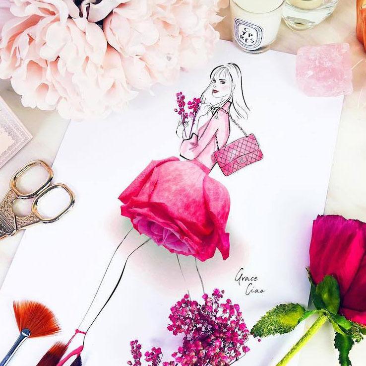La Mode Tendance Fleurs